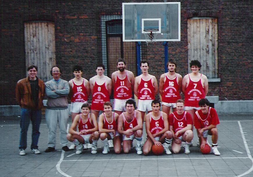 1. Mannschaft BC St.Vith Oktober 1990