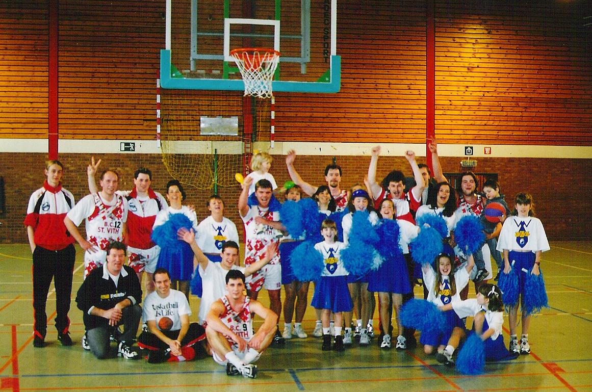 BC St.Vith Aufstieg in die 3. Provinzklasse 1995-96