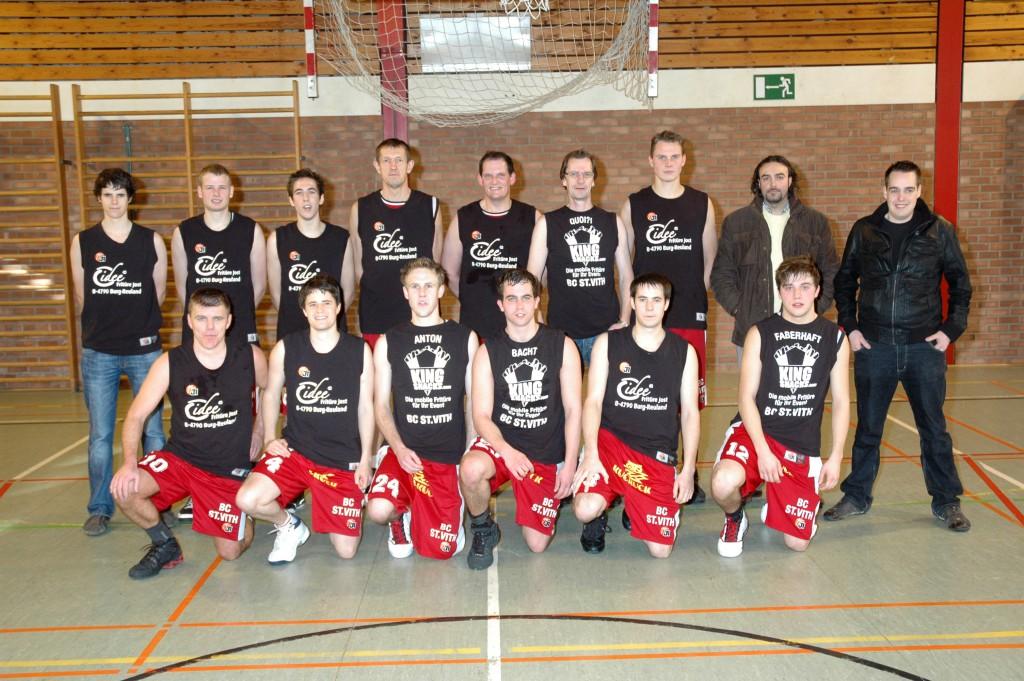 Erste und Zweite Mannschaft des BC St.Vith2