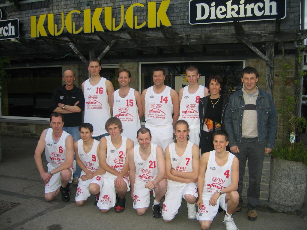 1. Mannschaft im Jahre 2005